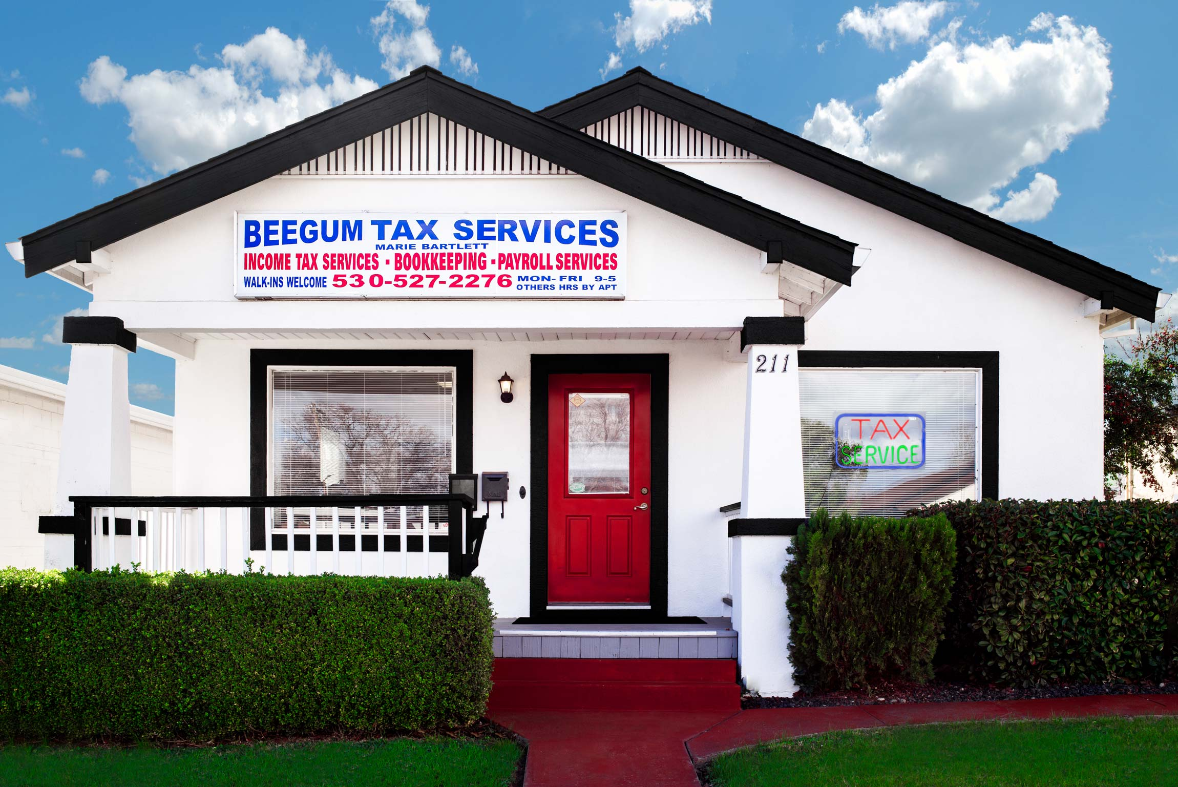 Small Business Photography for Beegum Tax Services